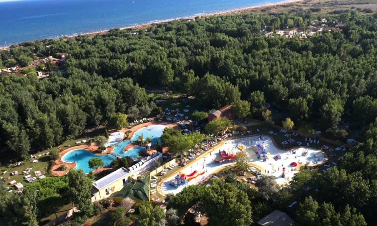 Camping-Le-Serignan-Plage-overzicht