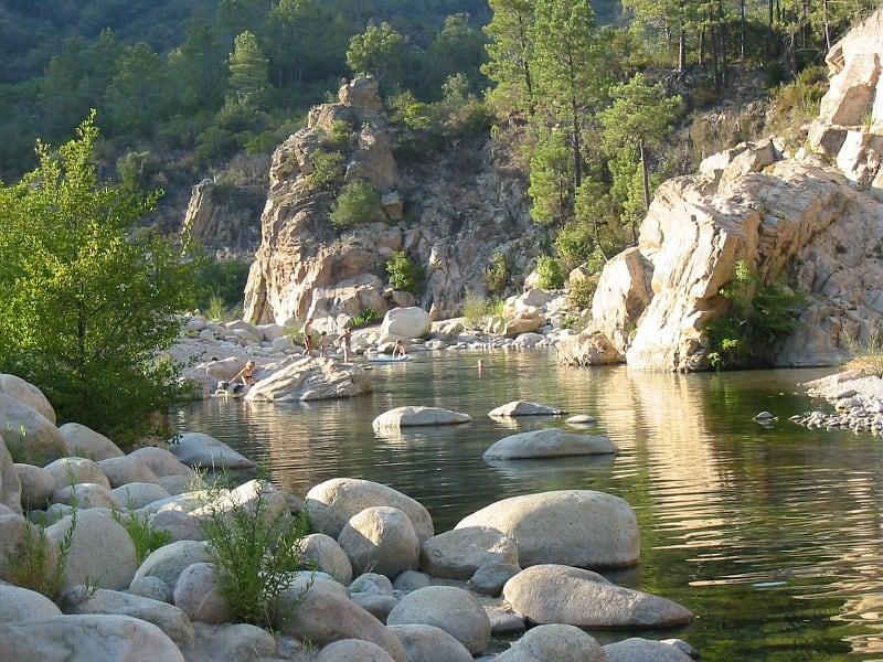 Camping-Sole-di-Sari-rivier-3