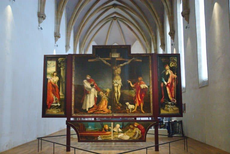 Isenheim Altar Matthias Grünewald Colmar 768x515