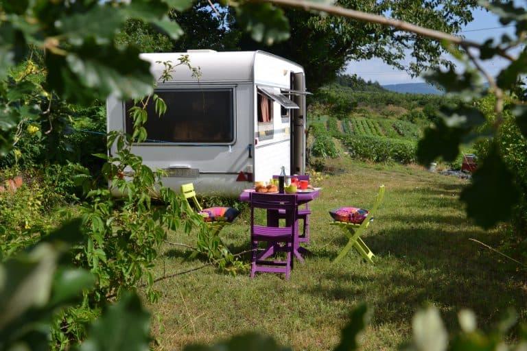Camping Aire Naturelle de Les Cerisiers stacaravan huren 768x512