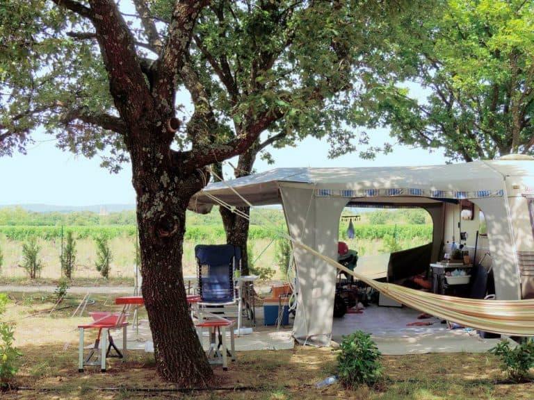 Camping Le Garrigon staanplaatsen 768x576