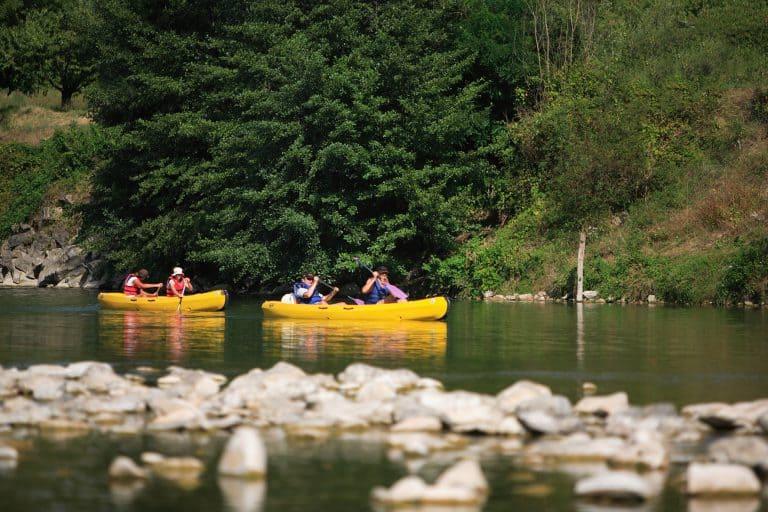 Camping Huttopia La Plage Blanche kanovaren 768x512