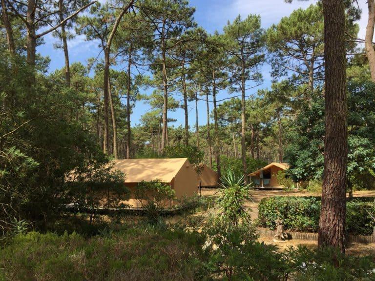 Camping Huttopia Lac de Carcans in Carcans lodegtenten verhuur Gironde 768x576