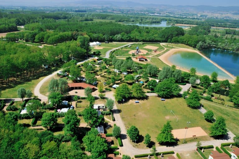 Camping du Lac in Cormoranche sur Saône  768x510