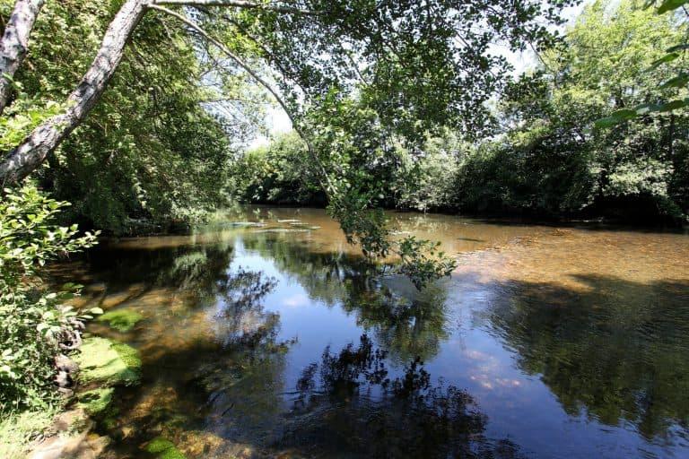 Camping Au Fil de l Eau Dordogne aan rivier 768x512