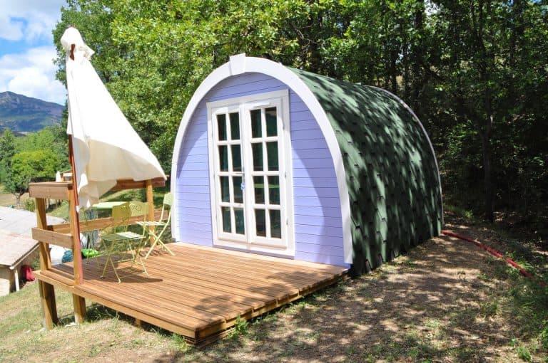 Camping Du Moulin De Thoard chalet huren 768x510