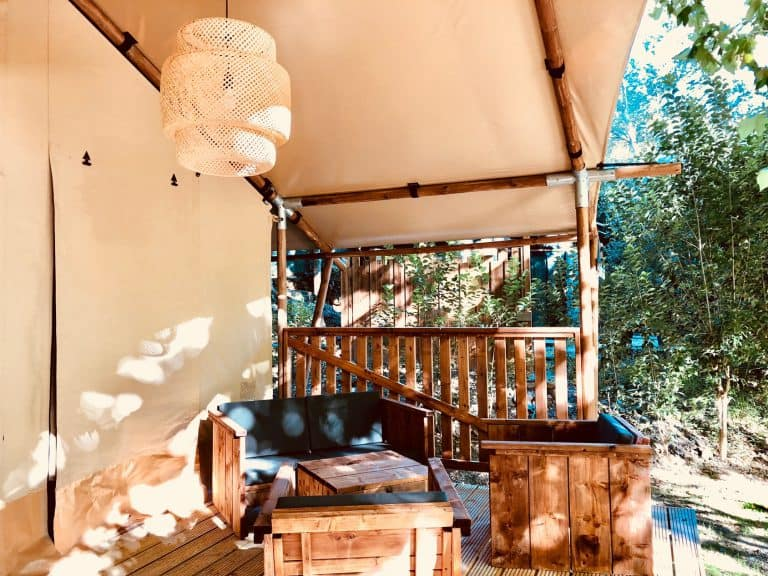Camping Suze Luxe Nature Drome safaritent huren 768x576