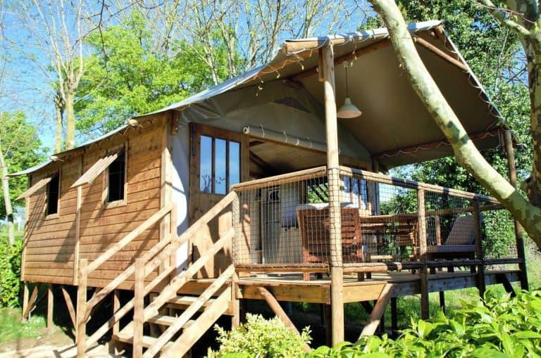 Camping Le Pigeonnier lodgetent huren 768x509
