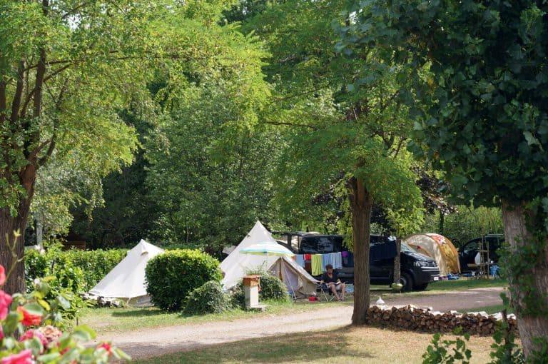 Camping l Oree du Lac staanplaats 768x510