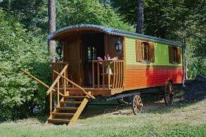 Pipowagen huren op een camping