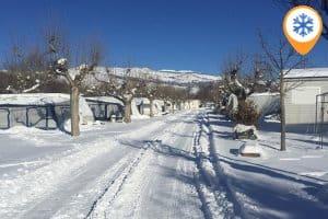 Wintercampings in Frankrijk