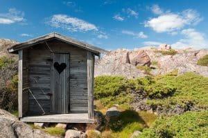 Campings met privé sanitair