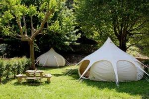 Tent huren op een camping