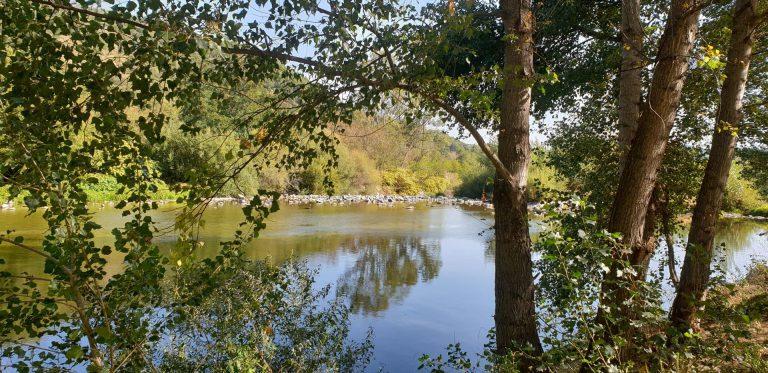 Camping Les Foulons Ardeche rivier Le Doux 768x373