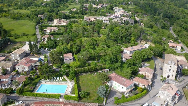 Camping Les Lavandes Ardeche ligging 768x432