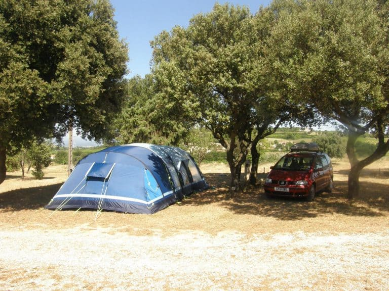 Camping Les Truffieres Ardeche staanplaats 768x576